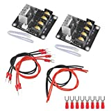 OFNMY Heat Bed Mosfet 3D Printer Heat Bed Power Module Add-on MOS Tube High Current Load Module for 3D Printer Hot Bed/Hot End (2 Pack)