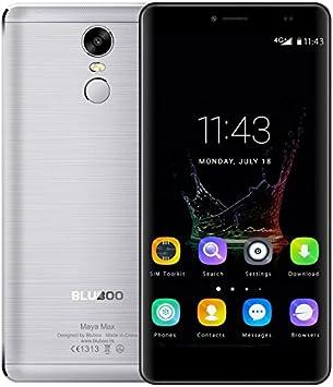 Bluboo Maya MAX - Smartphone Móvil Libre 4G Android 6.0 (6.0