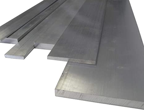 BARRA Piatta in alluminio nastro di alluminio 20,25,30,40,50,80,100 mm di larghezza