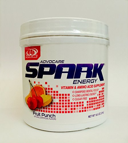 AdvoCare Spark Canister (Fruit Punch) 10.5 oz