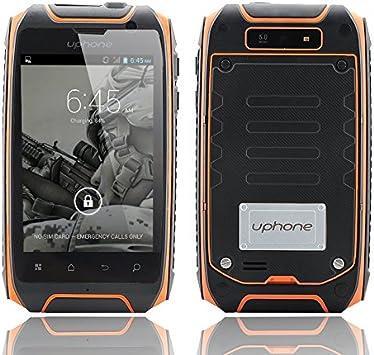 Uphone U5 + IP67 Smartphone - pantalla de 3,5 pulgadas, 1.3 GHz Dual Core CPU, Dual SIM, impermeable, a prueba de polvo, a prueb: Amazon.es: Electrónica