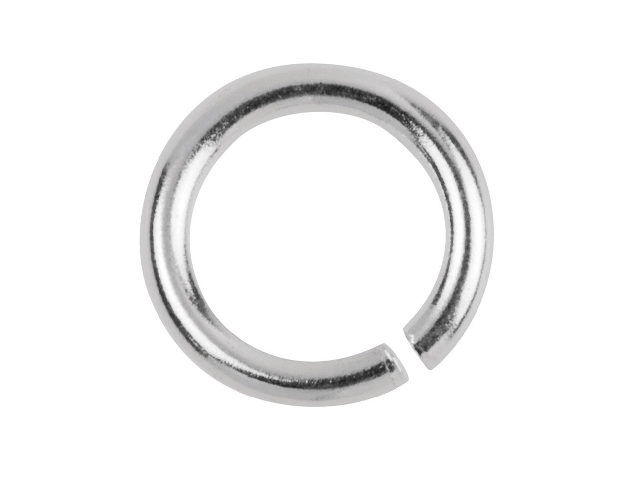 10 x Solid Sterling Silver Jump Rings - Open 6mm Good Quality Heavy Strong na