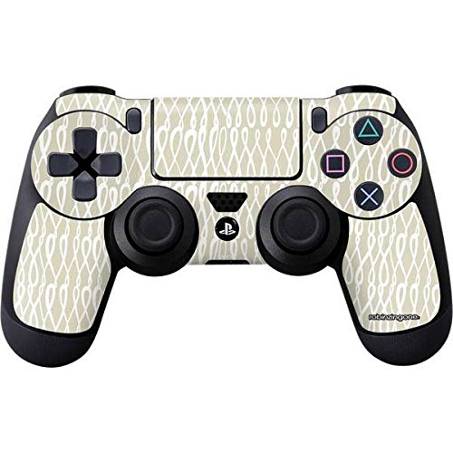 Squiggle Shape (Patterns PS4 Controller Skin - squiggle ivory. robinzingone)