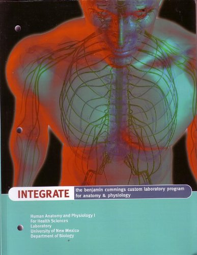 Download INTEGRATE: THE CUMMINGS CUSTOM LABORATORY PROGRAM FOR ANATOMY AND PHYSIOLOGY 2009 ebook