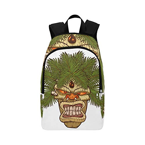 The Symbol of Primitive Tribe Totem Casual Daypack Travel Bag College School Backpack for Mens and Women ()