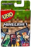 Mattel Games UNO Minecraft Card Game, Now UNO fun