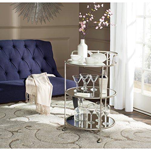Safavieh Home Collection Dulcinea Silver Bar Cart