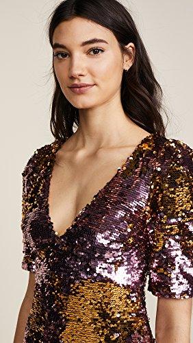 For Love & Lemons Women's Sparklers Party Dress, Dusty Rose, Medium by For Love & Lemons (Image #6)'