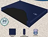 Free Flow Fluid Chamber Series 100 Mid Fill Softside Waterbed Bladder by Innomax Cal King