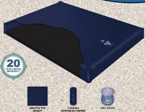 Free Flow Fluid Chamber Series 100 Mid Fill Softside Waterbed Bladder by Innomax King