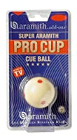 Spielball Pool weiss 57,2mm Aramith Pro TV-Sup