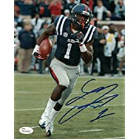 $55 » Laquon Treadwell Autographed/Signed Ole Miss Rebels 8x10 Photo JSA 15216 - Autographed College Photos