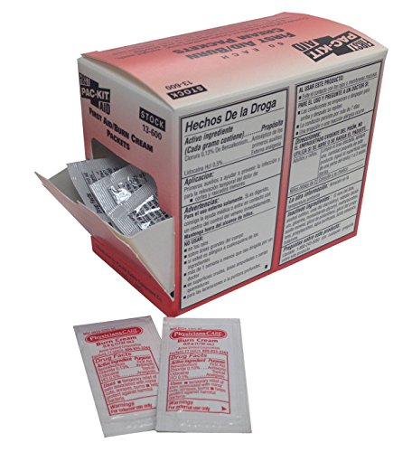 pac-kit-by-first-aid-only-13-600-first-aid-burn-cream-09-gm-packet-box-of-60