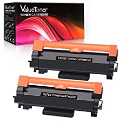 Product Name: 2x High Yield Black Toner Cartridge Replacement for Brother TN760 TN-760 TN730 TN-730 Package Content: 2 Black printer compatibility: HL Series printer Brother HL-L2350DW, HL-L2370DW, HL-L2370DWXL, HL-L2390DW, HL-L2395DW printer...