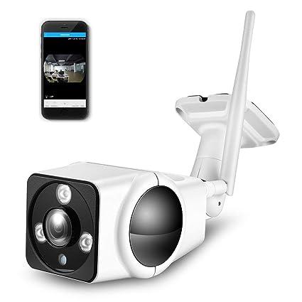 DOJA Barcelona | Camara de Vigilancia Exterior 1080p 360 fisheye WiFi IP + SD 32gb Incluida