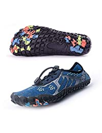 Git-up Women Men Water Sport Shoes Quick Dry Barefoot Beach Slip-on Breathable Pool Walking Running Yoga Exercise Sneakers Wide Toe