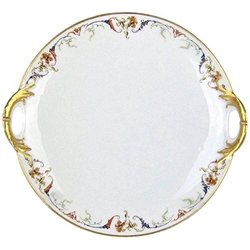 Antique French Limoges Porcelain Cake Plate from Haviland & Co. -