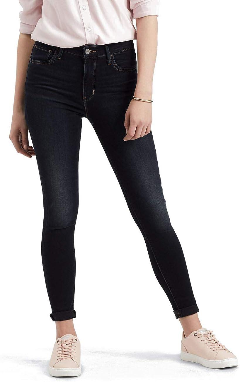 Levi's Damen 720 High Rise Super Skinny Jeans Blau 0094