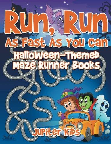 Run, Run As Fast As You Can : Halloween-Themed Maze Runner Books (Halloween 2017 Teaser)