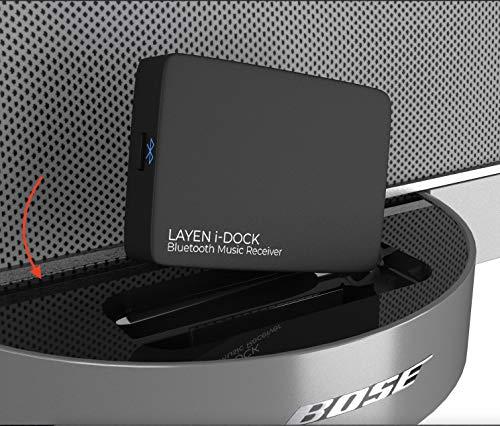 LAYEN i-DOCK Bluetooth draadloze adapter Stereo muziekontvanger met aptX & Multi Pair (niet geschikt voor auto's)