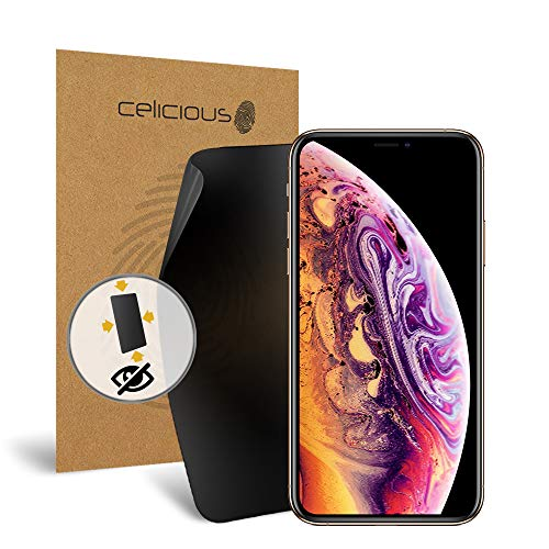 Celicious Privacy Plus 4-Way Anti-Spy Filter Screen Protector Film Compatible with Apple iPhone Xs Max from Celicious