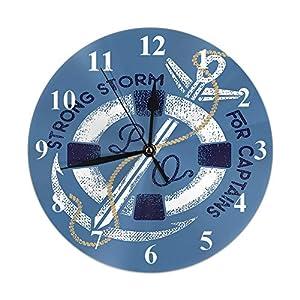 51e1P1i1MlL._SS300_ Nautical Themed Clocks