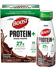 Boost Protein+ Chocolate Meal Replacement Shake, 12 Count, 12-Pack