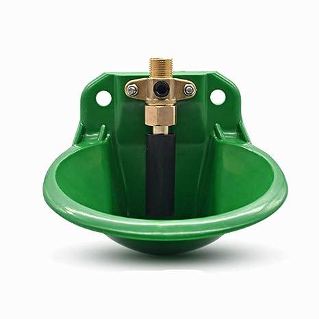 MUJING Cuenco de riego de plástico automático con válvula de Agua/válvula de Flotador de