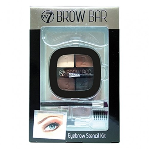 W7 Brow Bar Eyebrow Stencil Kit (Brow Bar)