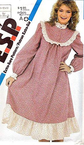 80s prairie dress - 1