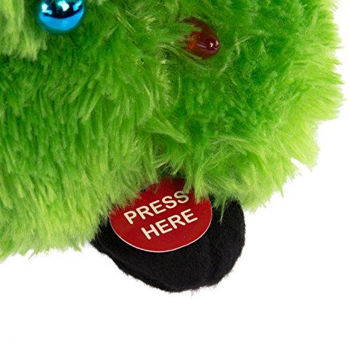 Simply Genius Plush Animated Stuffed Animal Toy Singing Dancing Light Up Figure (Singing & Dancing Christmas Tree)