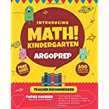 Introducing MATH! Kindergarten by ArgoPrep: 500+ Practice Questions + Comprehensive Overview of Each Topic + Detailed Video E