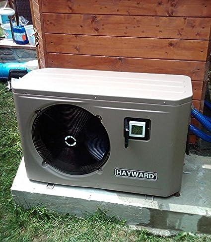 hayward-pompa de calor Hayward Energyline Pro - Potencia Rendimiento 7, 9 kW - assorbita 1, 88 kW: Amazon.es: Jardín