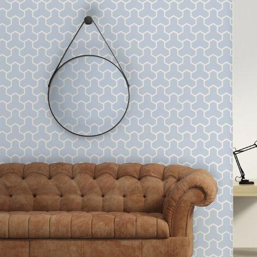 J BOUTIQUE STENCILS Wall Moroccan Stencil Cordelia Reusable stencils for DIY decor walls and fabric
