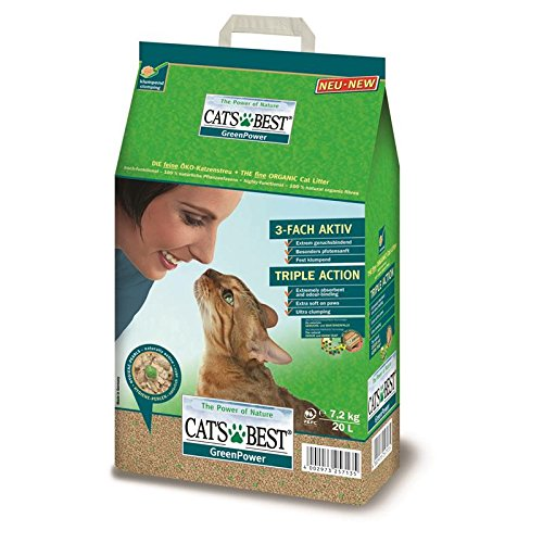 certificado de gato dispersa 20/litros Cats Best Sensitive