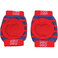 Mee Mee Soft Baby Knee Elbow Pads, Red