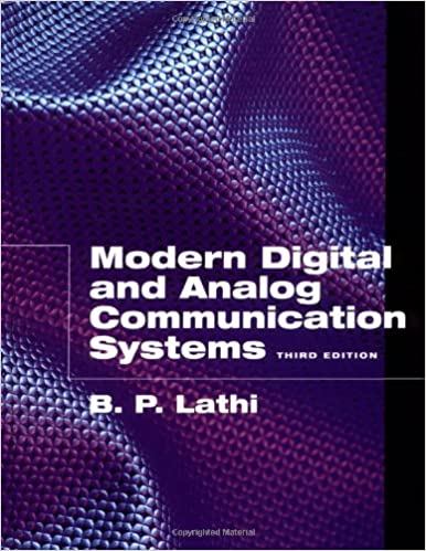 Analog Digital Communication Bp Lathi Ebook