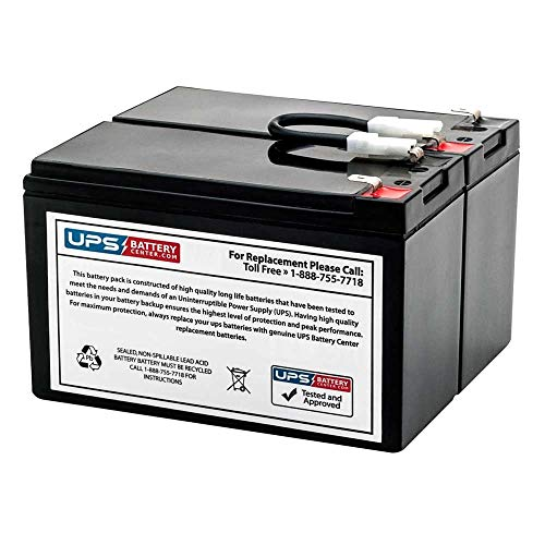 SU700RM3U - UPSBatteryCenter Compatible Replacement Battery Pack for APC Smart-UPS 700VA Rack Mount 3U