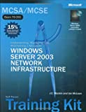 img - for MCSE Self-Paced Training Kit (Exams 70-290, 70-291, 70-293, 70-294): Microsoft  Windows Server(TM) 2003 Core Requirements, Second Edition (Microsoft Press Training Kit) book / textbook / text book