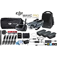 DJI Mavic Pro Collapsible Drone Fly More Combo with eDigitalUSA Kit