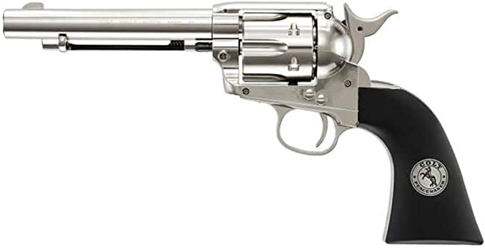 Best revolvers : Colt Single Action Army 45 .177 Pellet Nickel Air Pistol