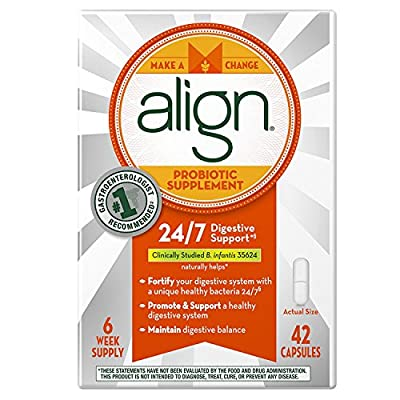 Align Probiotic Supplement, 24/7 Digestive Support with Bifantis