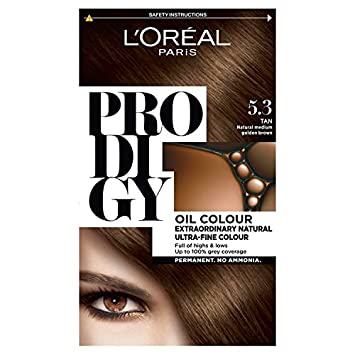 L'Oreal Prodigy 7.0 Almond Natural Dark Blonde Hair Dye L' Oréal Paris 3600522595960