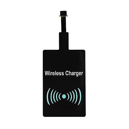 Amazon.com: Módulo cargador inalámbrico Qi receptor de carga ...