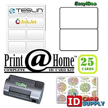For Teslin Printers Kit Holograms Office Paper 10 With com Laminating Laser Card Butterfly Amazon Machines Laminator And Id Pouches Ml450t Products