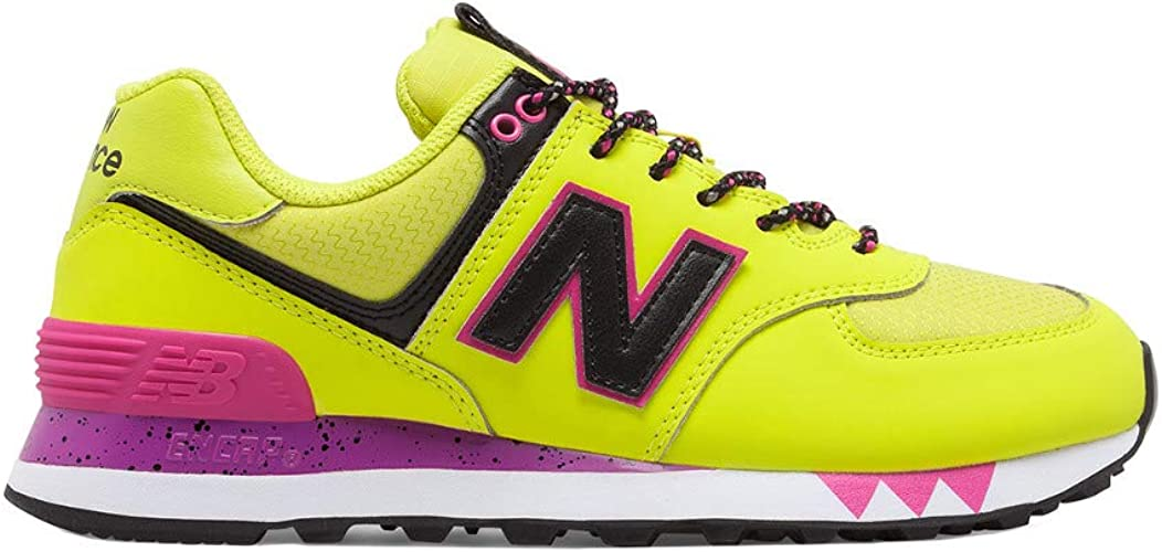 new balance 574 yellow