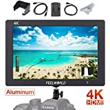 FEELWORLD T7 7 Inch IPS On-camera Monitor with 4K HDMI In/Output Loop-out, Solid Aluminum Housing, Video Assist 1920 x 1200 Full HD Field Monitor for DSLR with Histogram Peaking Focus