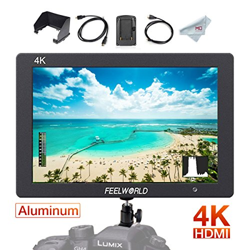 Camera Field Monitor with 4K HDMI, Full HD 1920 x 1200 IPS Video Assist for DSLR ()
