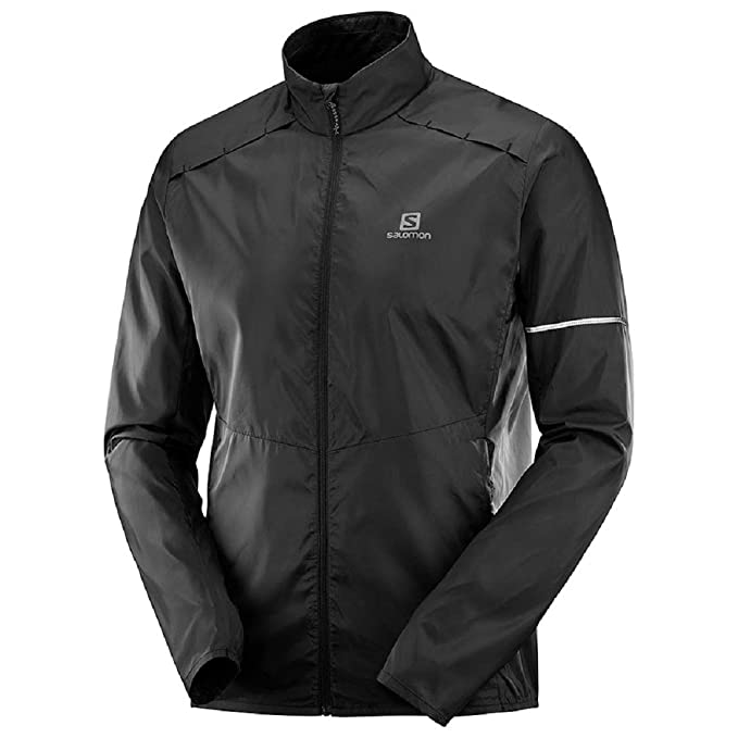 Amazon.com : Salomon Mens Agile Wind Jacket, : Clothing