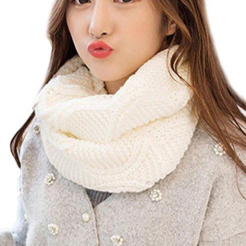 Neck Mode Mehrzweck Mädchen Transer® 30x120cm Winter Stricken Schal ...